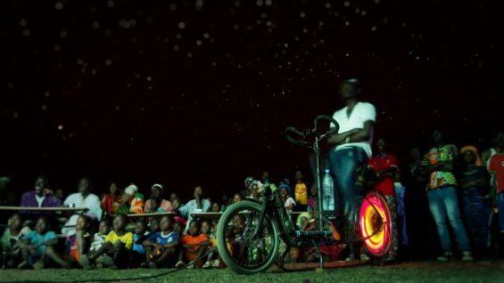 Projection Cinécyclo Sénégal