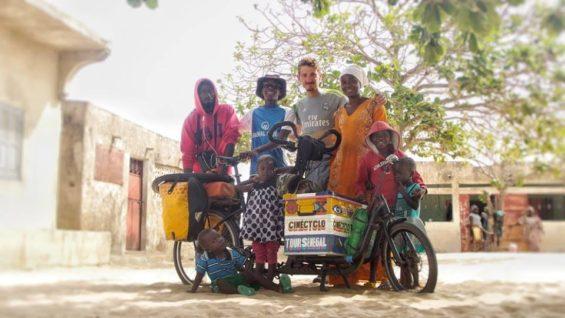 Vincent - Cinécyclo Sénégal