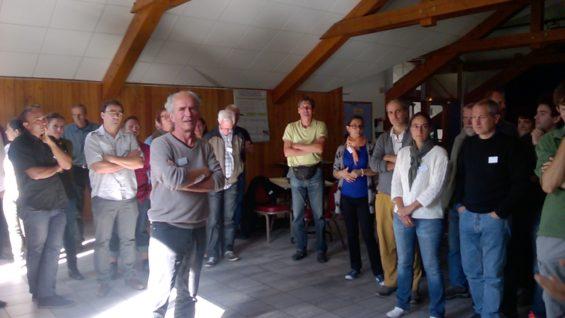 Voyages d'études de CIPRA et Alliance dans les Alpes