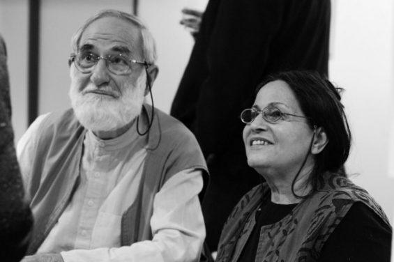 Roland et Sabrina Michaud en 2011 Bibliothèque Achères