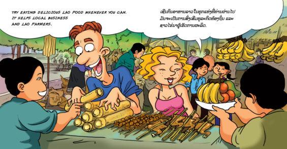 Sensibilisation - Ecotourisme Laos