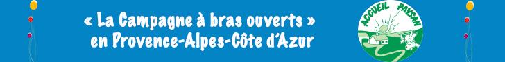 La Campagne à bras ouverts en Provence-Alpes-Côte d'Azur