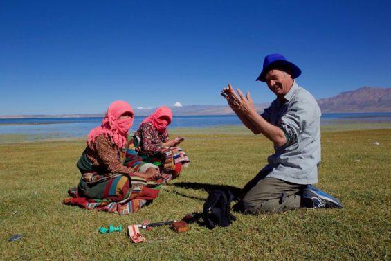 Olivier Föllmi au Tibet - Jean-Marie Hullot