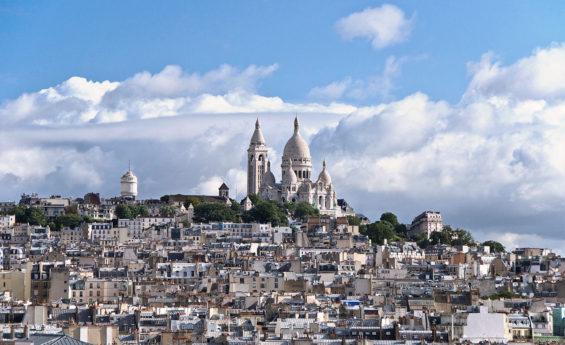 Vue sur le Sacré-Cœur - Paris
