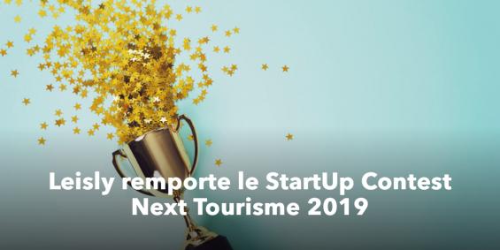 La startup Leisly a remporté le prix du public au Next Tourisme 2019