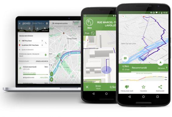 Geovelo premier GPS destiné aux cyclistes