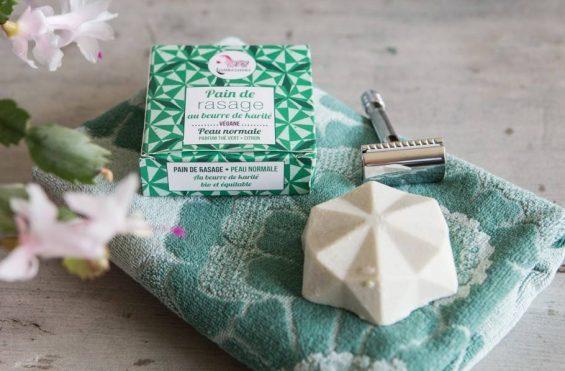 savon de rasage bio greenuit