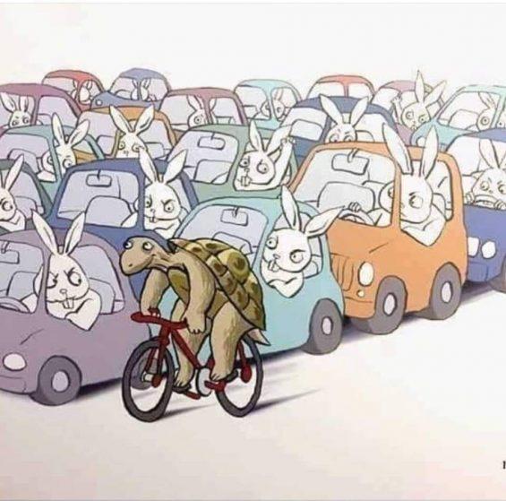 le vélo symbole du slowtourisme