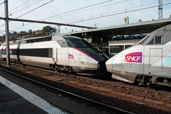 TGV français SNCF