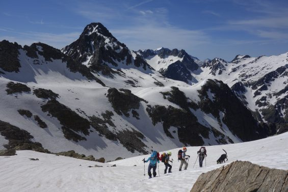 Une eco traversée qui a permis de monter à 2850m d'altitude