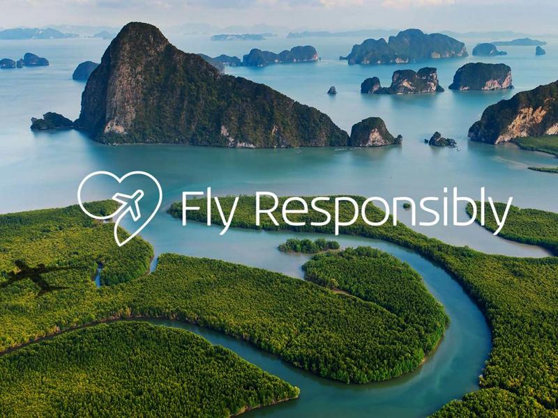 KLM encourage à moins prendre l'avion