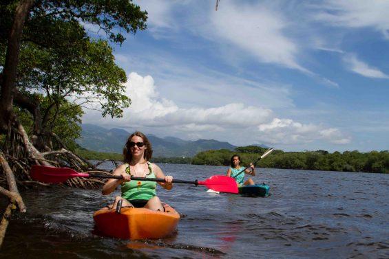 faire du kayak au Mexique