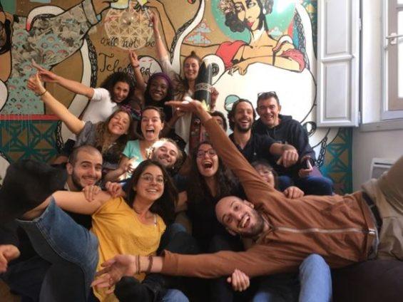 photo des organisateurs du Festival Jeunes Sans Frontières 2020