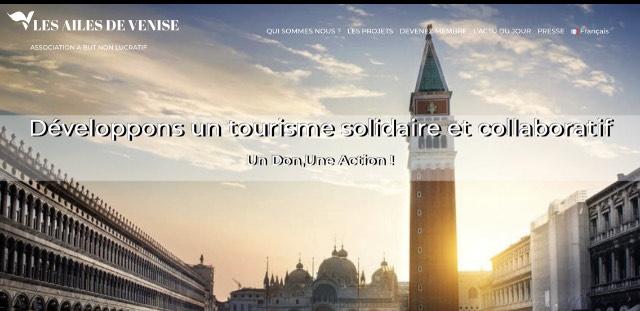 tourisme solidaire et collaboratif à Venise avec les ailes de Venise