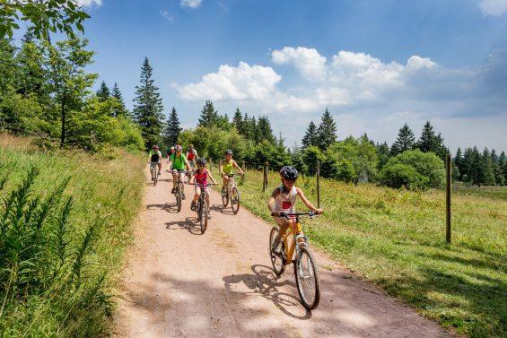 Promenade à vélo dans le massif des Vosges