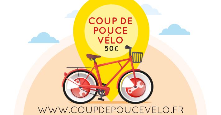 Coup de pouce vélo - réduction de 50€