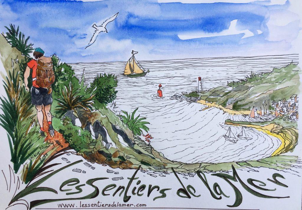 les Sentiers de la mer plateforme