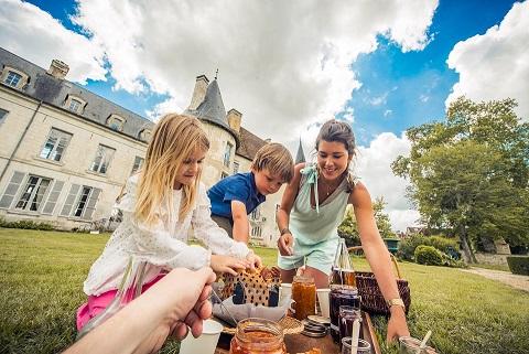 Goûter au Château-de-Taisne © Le Bonheur des Gens