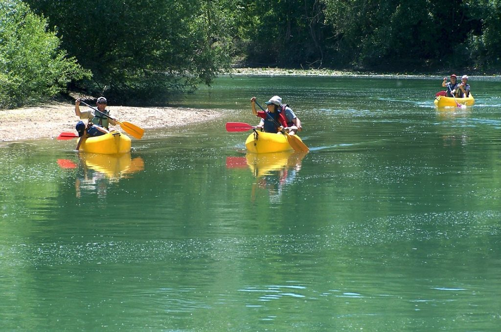 Kayak © Comité Départemental du Canoë Kayak