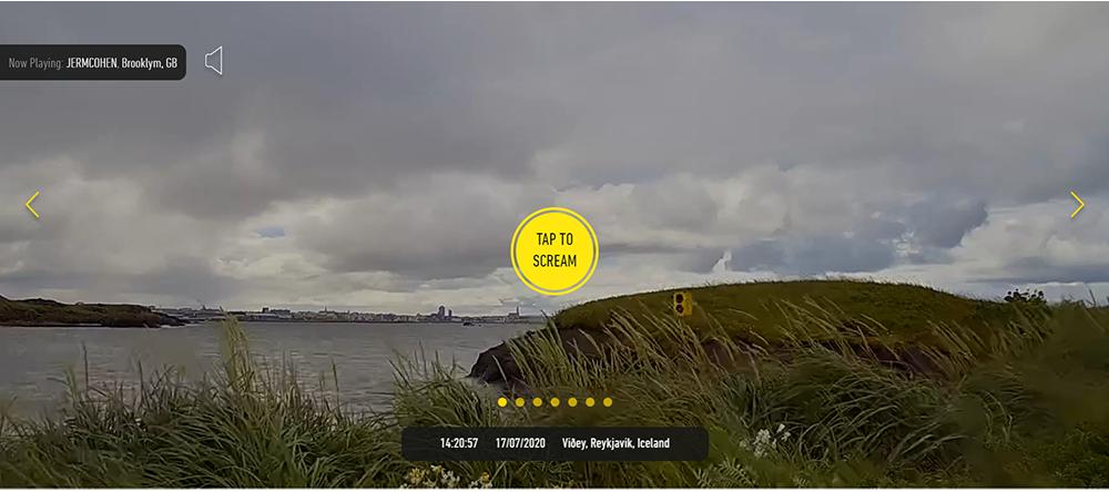 Ile de Videy en Islande