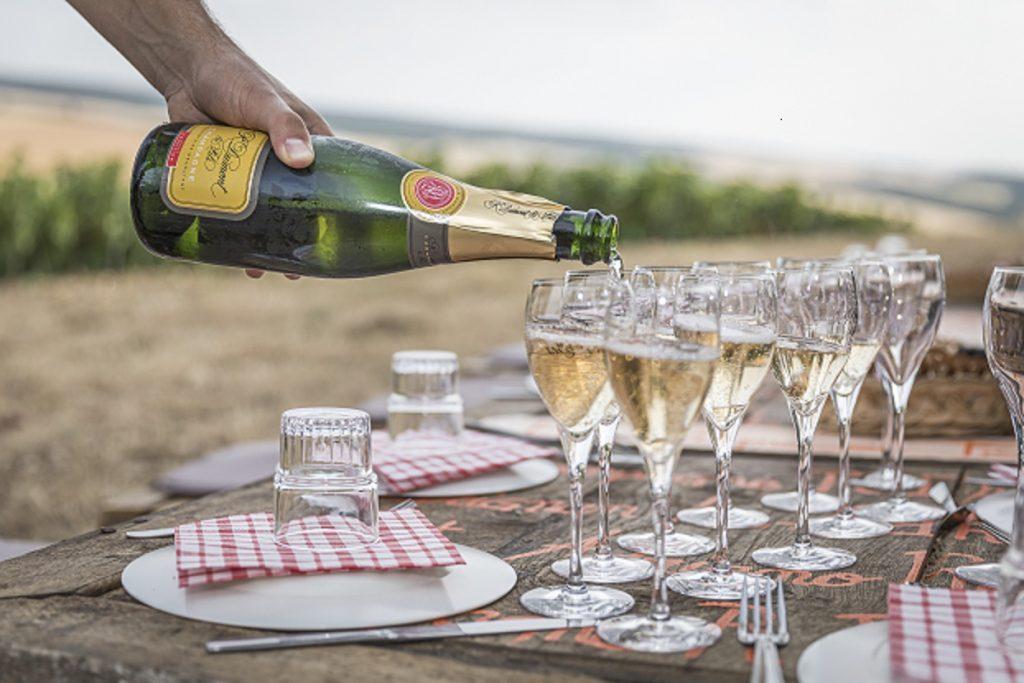 Pique-nique © Champagne Dumont