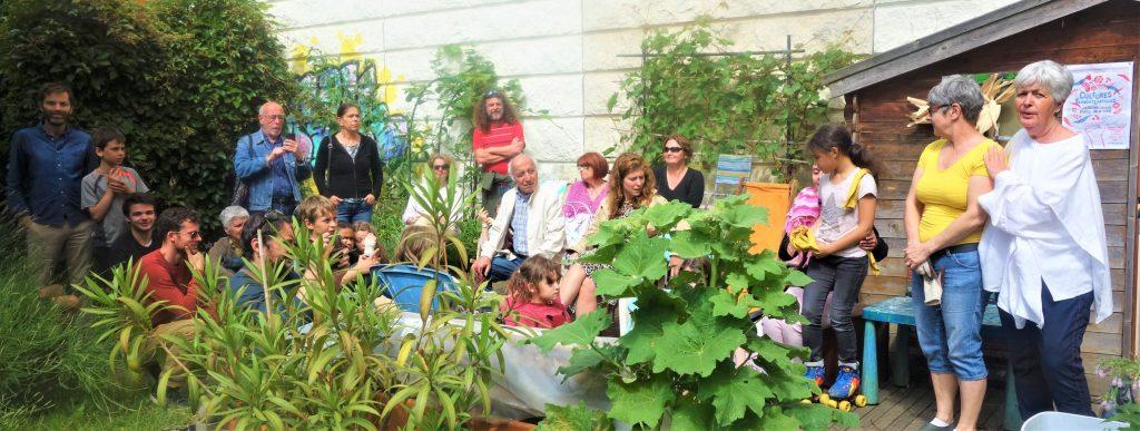 Ballade contée dans un jardin parisien