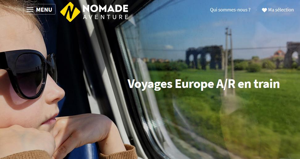 Voyages Europe A/R en train chez Nomade Voyages