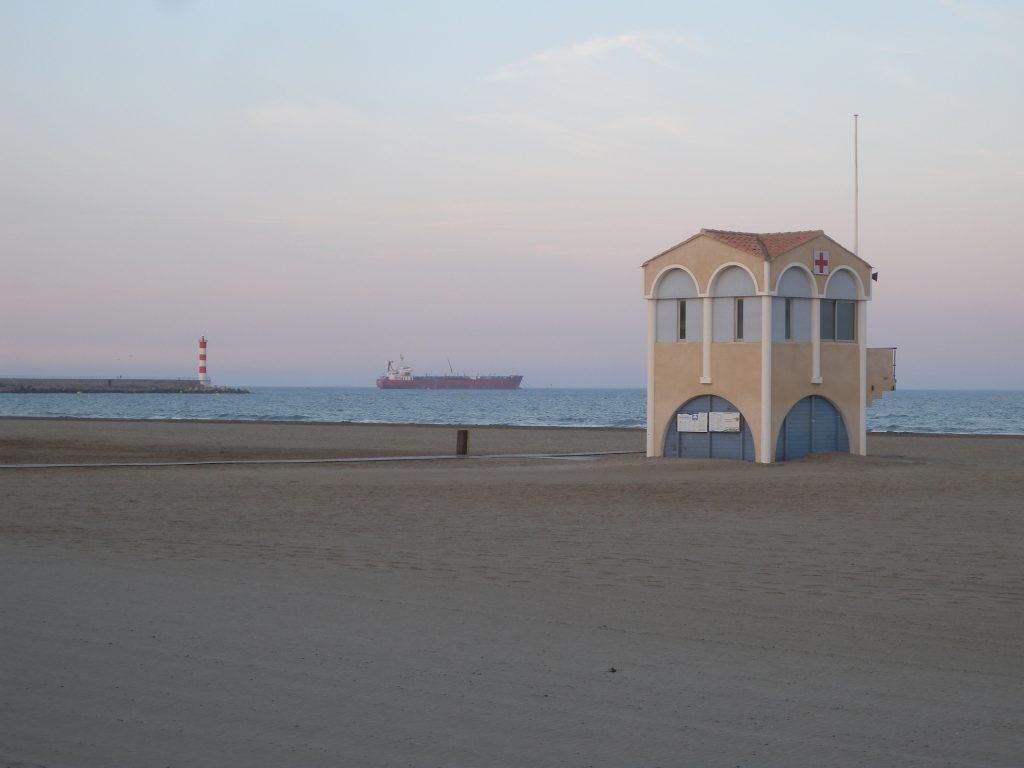 Guérite en Méditerranée