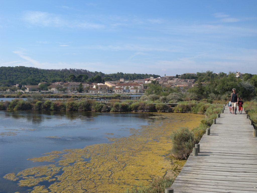 Promenade sur l'étang de Bages