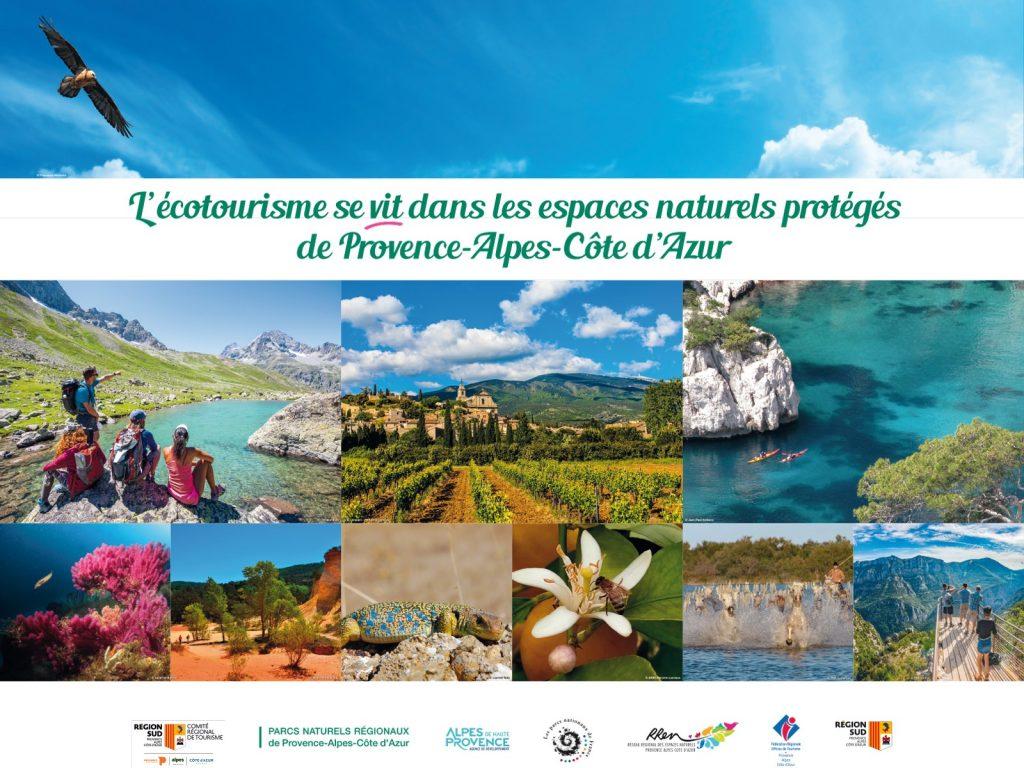 écotourisme espaces naturels protégés de Provence-Alpes-Côte d'Azur