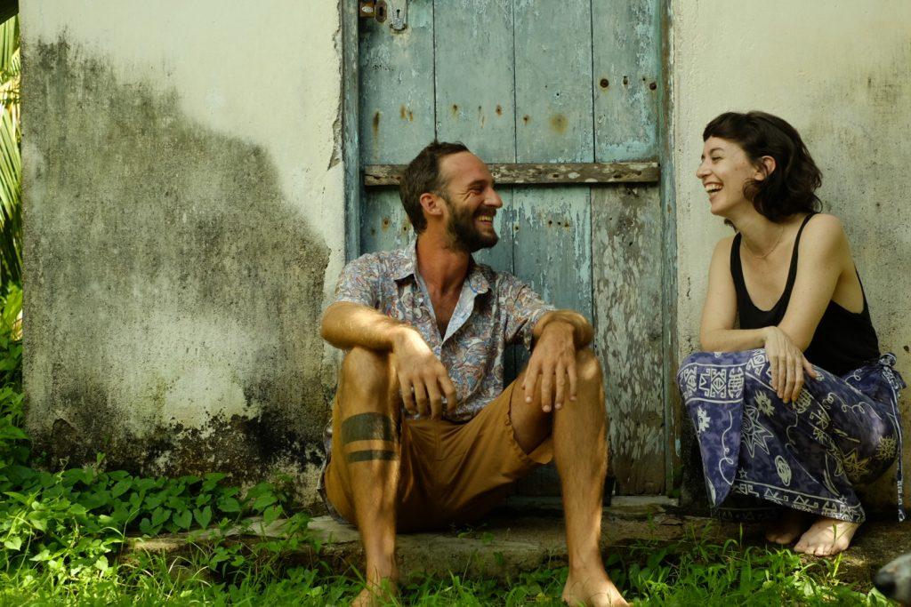 Le couple de fondateurs d'Une Bambu
