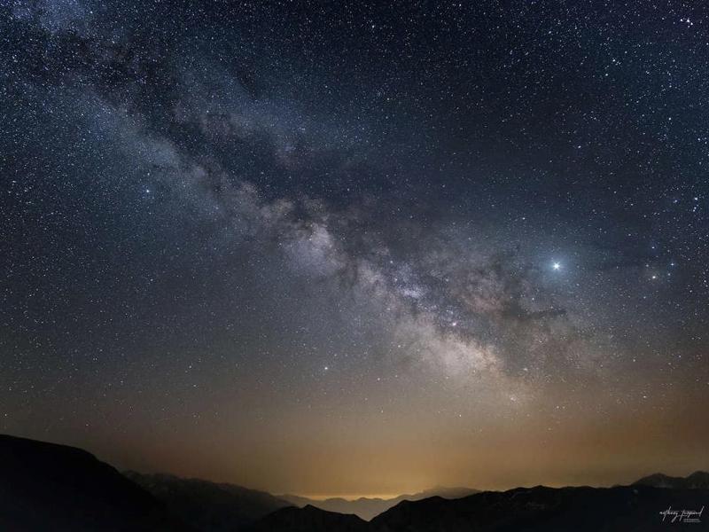 Mercantour-Parc National-vallée de la Tinée-nature-nuit étoilée