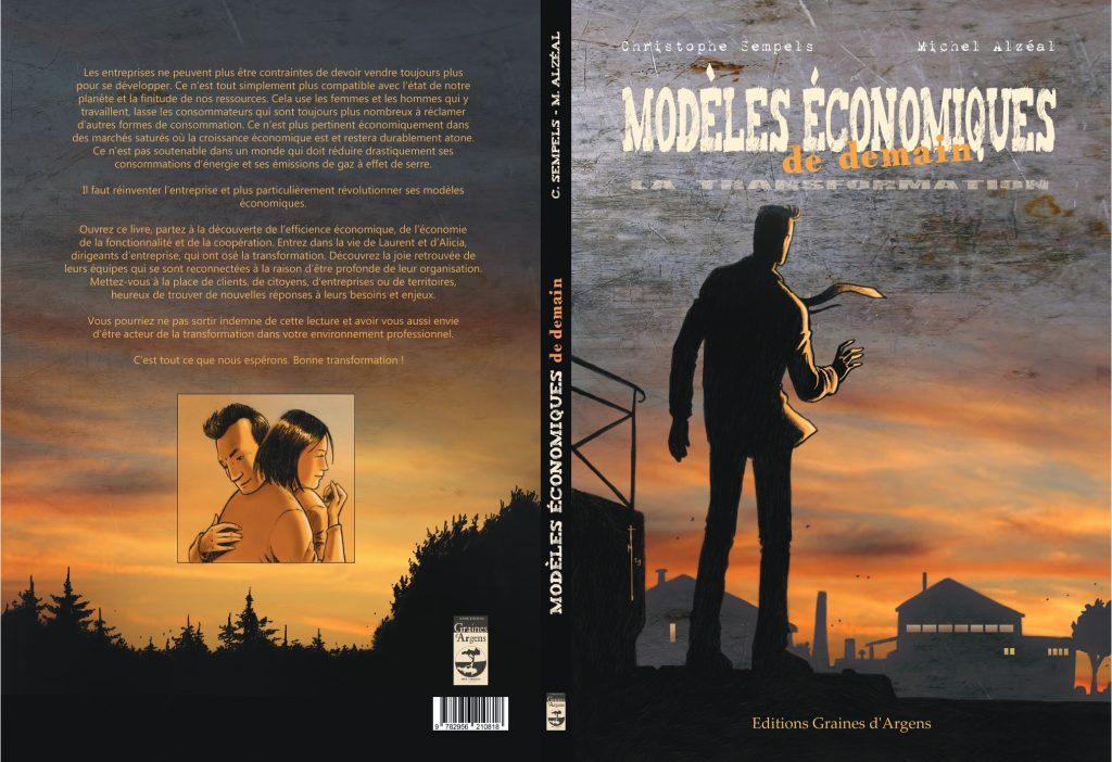 BD Modèles économiques de demain de Christophe Sempels et Michel Alzeal aux éditions Graines d'Argens