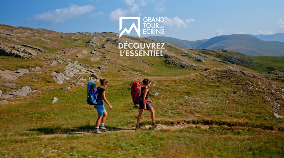 grand tour des écrins marque itinérance randonnée trek