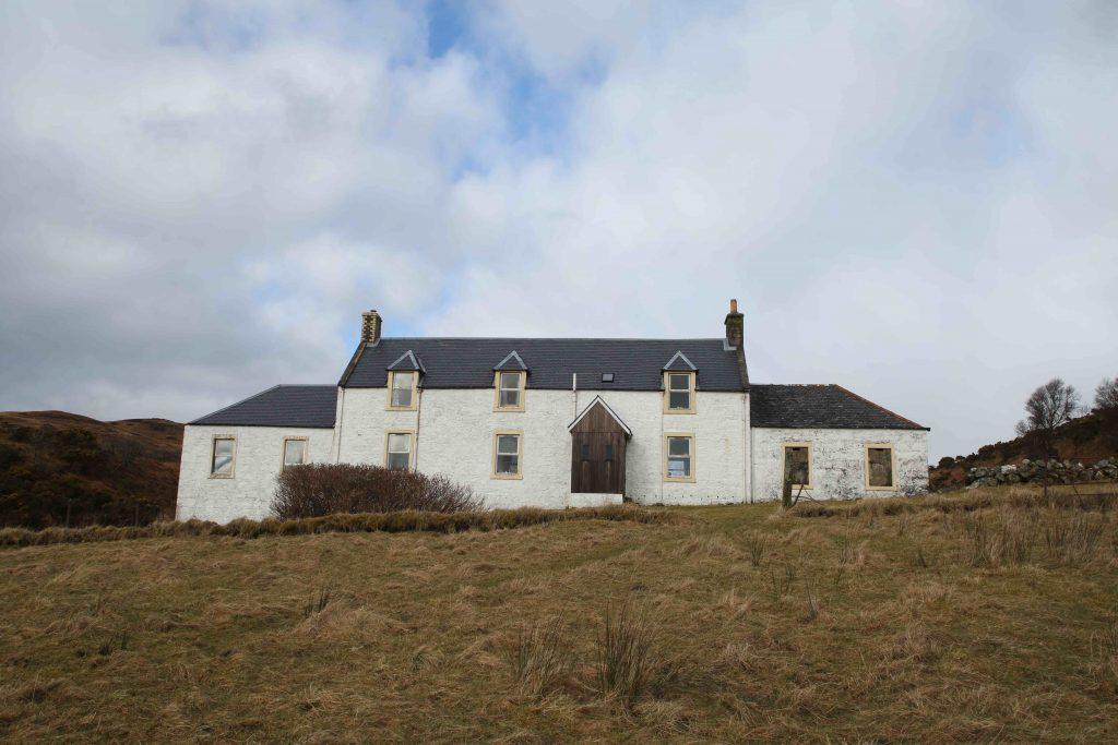 En 1947, George Orwell s'installa dans cette maison isolée sur l'île de Jura en Ecosse pour terminer l'écriture de 1984.