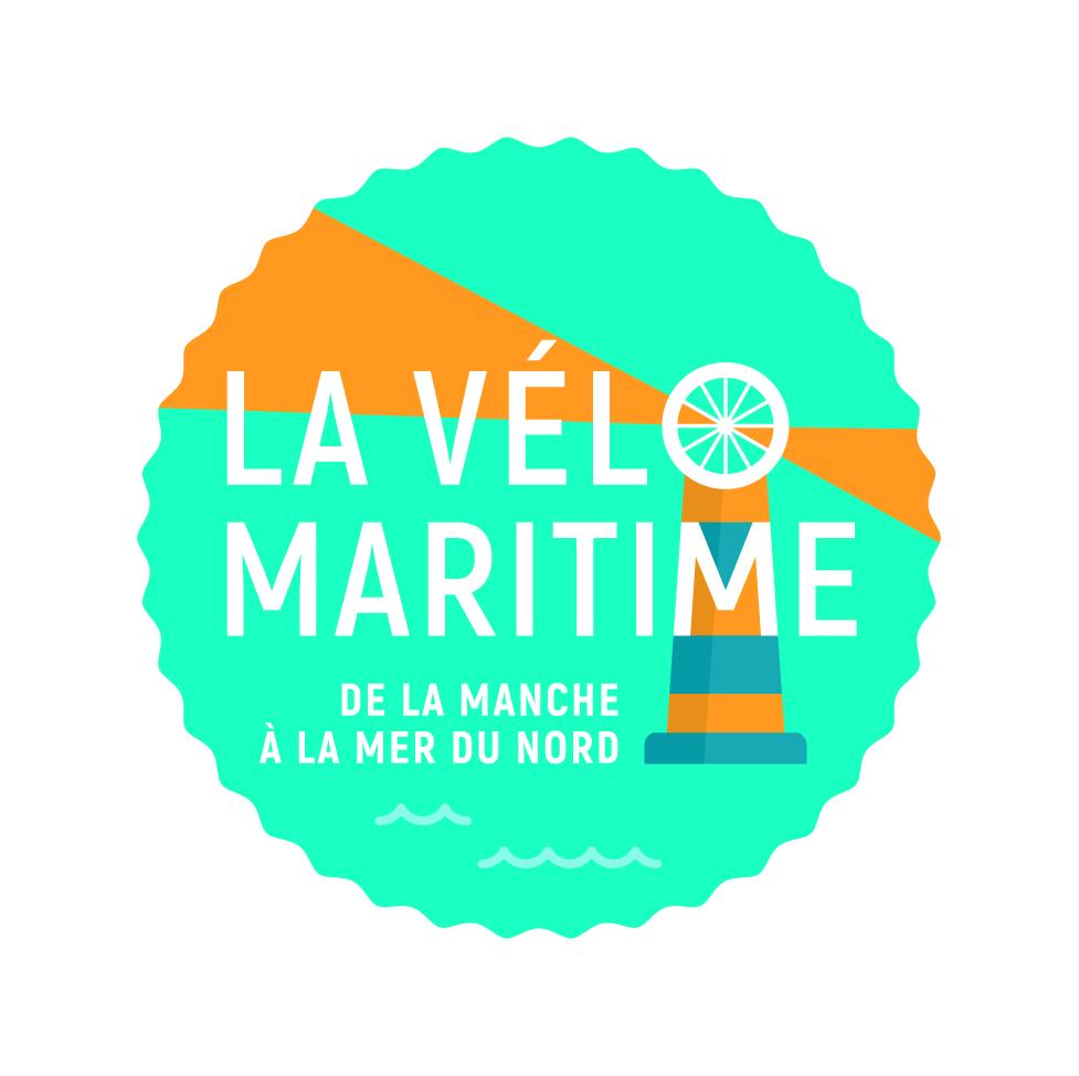 logo de la Vélo Maritime, de la Manche à la mer du nord