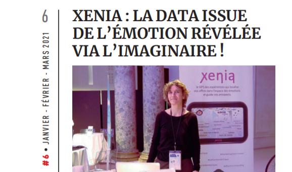 Ariane Flahault et Xenia valorisé dans le magazine la feuille de chou
