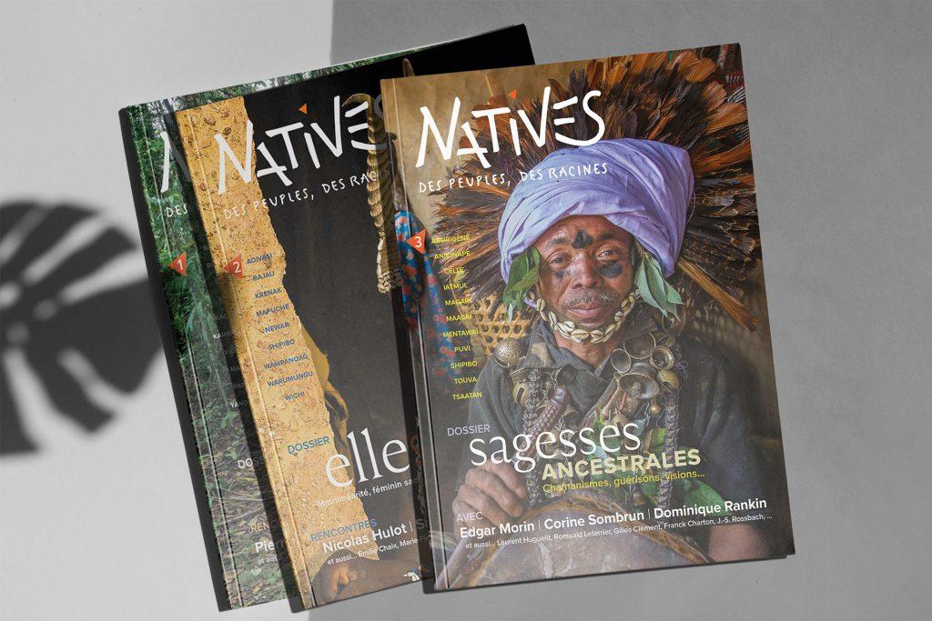 3e numéro de la Revue Natives pour les peuples racines de Jean Pierre Chometon