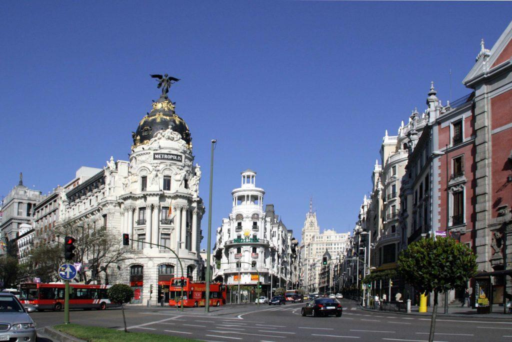 Madrid, Calle de Alcalá © Domaine public