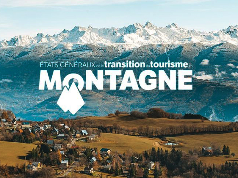 Visuel du lancement des États Généraux de la Transition du Tourisme en Montagne