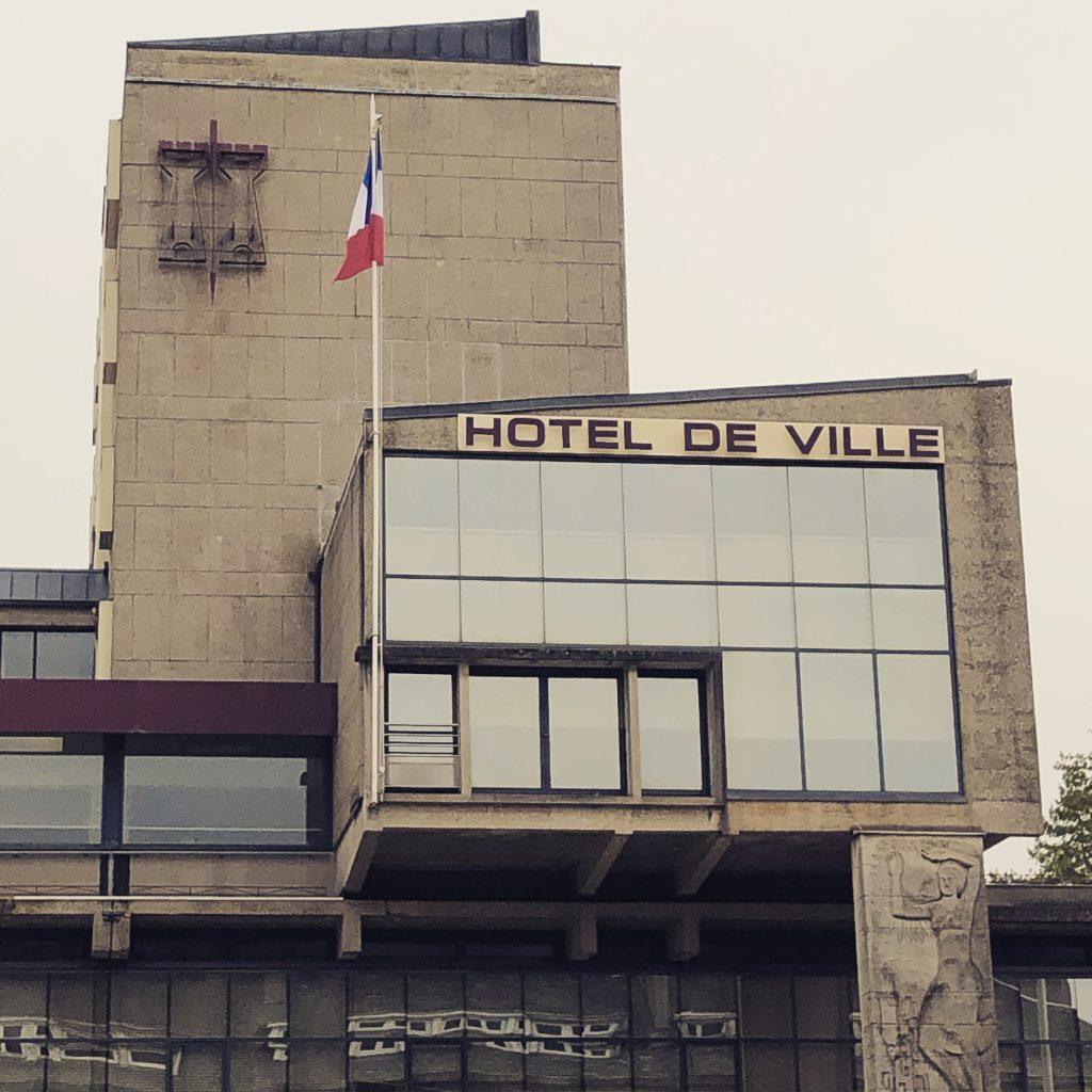L'hôtel de ville de Vire