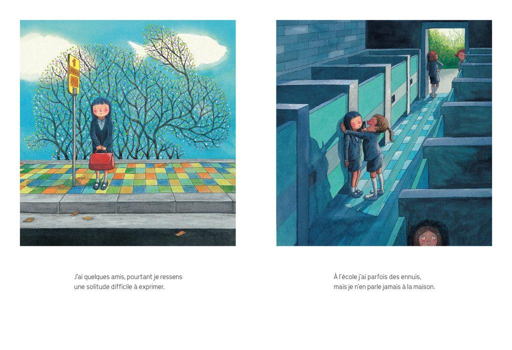 Ouvrage Nuit étoilée, Jimmy Liao, Hongfei, 2020, pages intérieures
