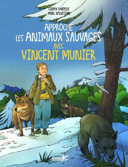 Ouvrage jeunesse pour approcher les animaux sauvages de Vincent Munier