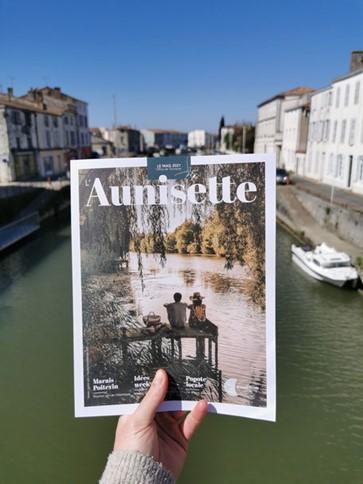 Couverture du Magazine l'Aunisette
