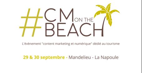 Logo CMon the beach