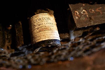 Bouteille Latour vin de Bourgogne