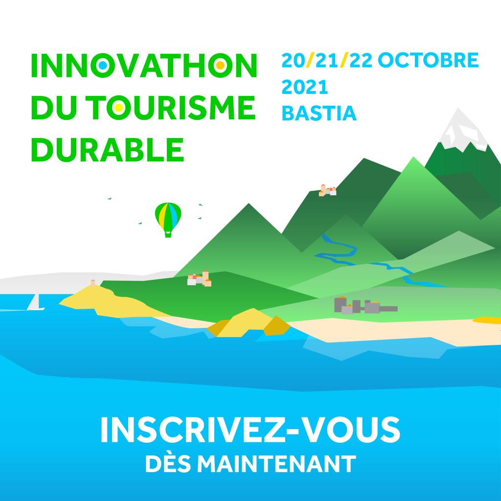 1er Innovathon du Tourisme Durable : à vous de jouer !