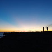 Stage photo découverte - coucher de soleil - Presqu'île du Gaou - Avec Mwanga Vagabonde (Copyright Stéphanie Vigetta)