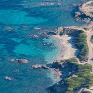 La côte de Six-Fours-les-Plages - Balade photo aérienne en ULM pendulaire avec Mwanga Vagabonde (Copyright Stéphanie Vigetta)