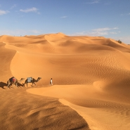 Tunisie desert rouge